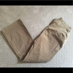 Maternity corduroy pants